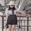 Lace Mix Dress Lady Ribbon เดรสลายเพชร thumbnail 2