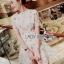 Dress เดรสผ้าทูลล์ปักลายสไตล์โมเดิร์นเฟมินีน thumbnail 6