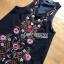 Lady Penelope Lady Ribbon cotton Dress ขายส่งเดรสแขนกุด thumbnail 6