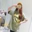 เสื้อผ้าแฟชั่นเกาหลีสวยๆmini dress ผ้ายืดเนื้อดี thumbnail 4