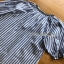 ZARA Blue Striped Lady Ribbon with Tassel thumbnail 6