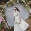 2Sister Made, White Elegant Beauty Maxi Dress แม็กซี่เดรสลุคเรียบหรู thumbnail 4