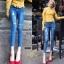 กางเกงยีนส์แฟชั่นแต่งรอยขาด แบรนด์เกาหลี Daisy thumbnail 3