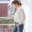 เสื้อผ้าลูกไม้เกาหลี เชิตแฟชั่นลายดอกไม้ thumbnail 5