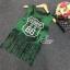 Lady Ribbon Online ขายส่งเสื้อผ้าออนไลน์ เสื้อผ้า Sevy SV10030816 &#x1F389Sevy Play Sport Green Tassel Sleeveless T-Shirt thumbnail 5