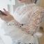 Lady Ribbon White Lace Blouse with Ribbon thumbnail 3