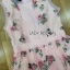 Lady Ribbon Roses Lace ขายเดรสผ้าลูกไม้สีชมพูพาสเทล thumbnail 5