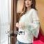 LR02290816 &#x1F380 Lady Ribbon's Made &#x1F380 Lady Cori Pastel Embroidered Ruffle-Sleeve Cotton thumbnail 4