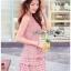 Mini Dress Lady Ribbon ขายมินิเดรส thumbnail 3