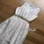 Lady Ribbon Crepe Maxi Dress เดรสผ้าลูกไม้ thumbnail 7