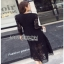 Lady Ribbon Mini Dress เดรสลูกไม้สีดำ thumbnail 2
