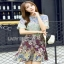 Mixed Printed Chiffon Lady Ribbon Dress เดรสผ้าพิมพ์ลาย thumbnail 4