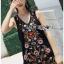Lady Penelope Lady Ribbon cotton Dress ขายส่งเดรสแขนกุด thumbnail 5