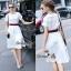 Lady Ribbon Online เสื้อผ้าออนไลน์ขายส่ง Normal Ally เสื้อผ้า NA09150816 &#x1F389Normal Ally Present Gucci New collection 2016 Dress &#x1F389 (เดรส + เข็มขัด) thumbnail 1
