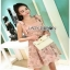 Lace Mini Dress Lady Ribbon มินิเดรส thumbnail 6
