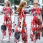 Lady Ribbon Online เสื้อผ้าออนไลน์ขายส่ง Normal Ally เสื้อผ้า,NA06220816 &#x1F389Normal Ally Present D&G Apple Summer casual set&#x1F389 (เสื้อ + กางเกง) thumbnail 1