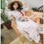 Chic Colorful Embroidered Cotton Lady Ribbon Dress thumbnail 5