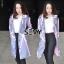 เสื้อคลุมแฟชั่น ผ้าฮานาโกะ /Hanako thumbnail 4