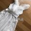 Dress Lady Ribbon ขายเดรสแขนระบาย thumbnail 7