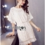 Lady Ribbon Online ขายส่ง เสื้อผ้าออนไลน์ ของแท้ ราคาถูกพร้อมส่ง เลดี้ริบบอน LR08140716 &#x1F380 Lady Ribbon's Made &#x1F380 Lady Michelle Modern Bohemian Fringed Lace Dress thumbnail 4