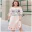 Lady Ribbon Pink Cotton ZARA Dress ขายเดรสผ้าคอตตอน thumbnail 1