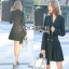 Lady Martin Smart Elegance Suit Pleated Dress thumbnail 2