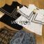 Lady Ribbon Online ขายส่ง เสื้อผ้าออนไลน์ ของแท้ ราคาถูกพร้อมส่ง เลดี้ริบบอน LR15140616 &#x1F380 Lady Ribbon's Made &#x1F380 Lady Florence Hippie Chic Jersey Cropped Top and Printed Shorts with Tassels เ thumbnail 6