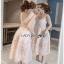 Lace Cocktail Dress Lady Ribbon ค็อกเทลเดรสผ้าลูกไม้ thumbnail 1