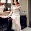 Lady Ribbon Tulle Evening Dress thumbnail 3