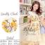 2Sister Made, White Lovely Beauty Dress With Flora Beauty Knitt เดรสลุคสวยหรู เนื้อผ้าorganzaเกรดดี thumbnail 2