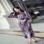 เสื้อผ้าแฟชั่นมาใหม่เดรสลุคก์เกาหลีแขนยาว thumbnail 4