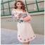 Lady Ribbon Pink Cotton ZARA Dress ขายเดรสผ้าคอตตอน thumbnail 4