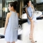 เสื้อทรงปล่อยผ้าประดับมุกเกาหลีน่ารักๆ thumbnail 3
