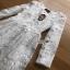 Dress เดรสผ้าลูกไม้สีขาวไสตล์คลาสสิก thumbnail 6