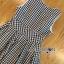 Lady Ribbon Online ขายส่งเสื้อผ้าออนไลน์ ขายส่งของแท้พร้อมส่ง Lady Ribbon LR21250716 &#x1F380 Lady Ribbon's Made &#x1F380 Lady Jennifer Summery Pretty Daisy Embroidered Plaid Dress สำเนา thumbnail 4