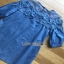 Denim Lady Ribbon Mini Dress มินิเดรส thumbnail 6