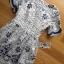 Lady Ribbon Online ขายส่งเสื้อผ้าออนไลน์ ขายส่งของแท้พร้อมส่ง Lady Ribbon LR04250716 &#x1F380 Lady Ribbon's Made &#x1F380 Lady Stephanie Sweet Feminine Laser-Cut Floral Lace Dress เดรสผ้าลูกไม้ thumbnail 6
