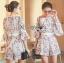 Lady Ribbon High-Waisted Shorts Set เซ็ตเสื้อทรงคร็อป thumbnail 4