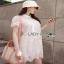 Lady Feona Feminine Collared Lace Shirt Dress thumbnail 4