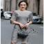 ชุดเดรสเกาหลีซิปซ่อนเกรดดี Lace Dress thumbnail 1