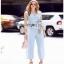 Lady Ribbon Rachel Smart Casual White Pants ขายส่งเสื้อแขนกุด thumbnail 3