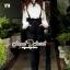 SS13010916 Seoul Secret Say's... Lovely Bibby Nifty Bowwy Set Material : เซ็ทสวยๆ เก๋ๆ สไตล์สาวมีคลาส thumbnail 4