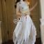 Lady Ribbon ออนไลน์ เสื้อผ้าออนไลน์ พร้อมส่งของแท้ SV02130716 &#x1F389Sevy Rising Star Knit Dress thumbnail 3