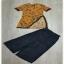 เสื้อพร้อมกางเกงคอจีนผ้าซีทรู thumbnail 6