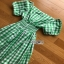 Checked Dress Lady Ribbon ขายเดรสผ้าคอต thumbnail 7