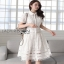 Lady Ribbon Sweet White Lace Shirt Dress thumbnail 6