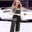 Lady Ribbon Daniella Platinum Overall Lace Jumpsuit thumbnail 3