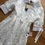LR07290816 &#x1F380 Lady Ribbon's Made &#x1F380 Lady Abigail Casual Lace Cotton Shirt Dress เชิ้ตเดรส thumbnail 5