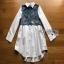 Lady Ribbon Cotton Shirt ขายส่งเชิ้ตเดรส thumbnail 7