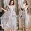 Lady Ribbon Midi Dress thumbnail 2